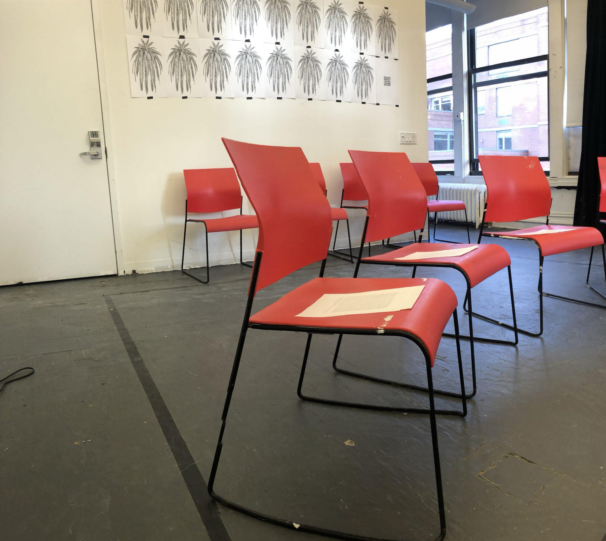 Escola Aqui, pop-up activation set up, 2020