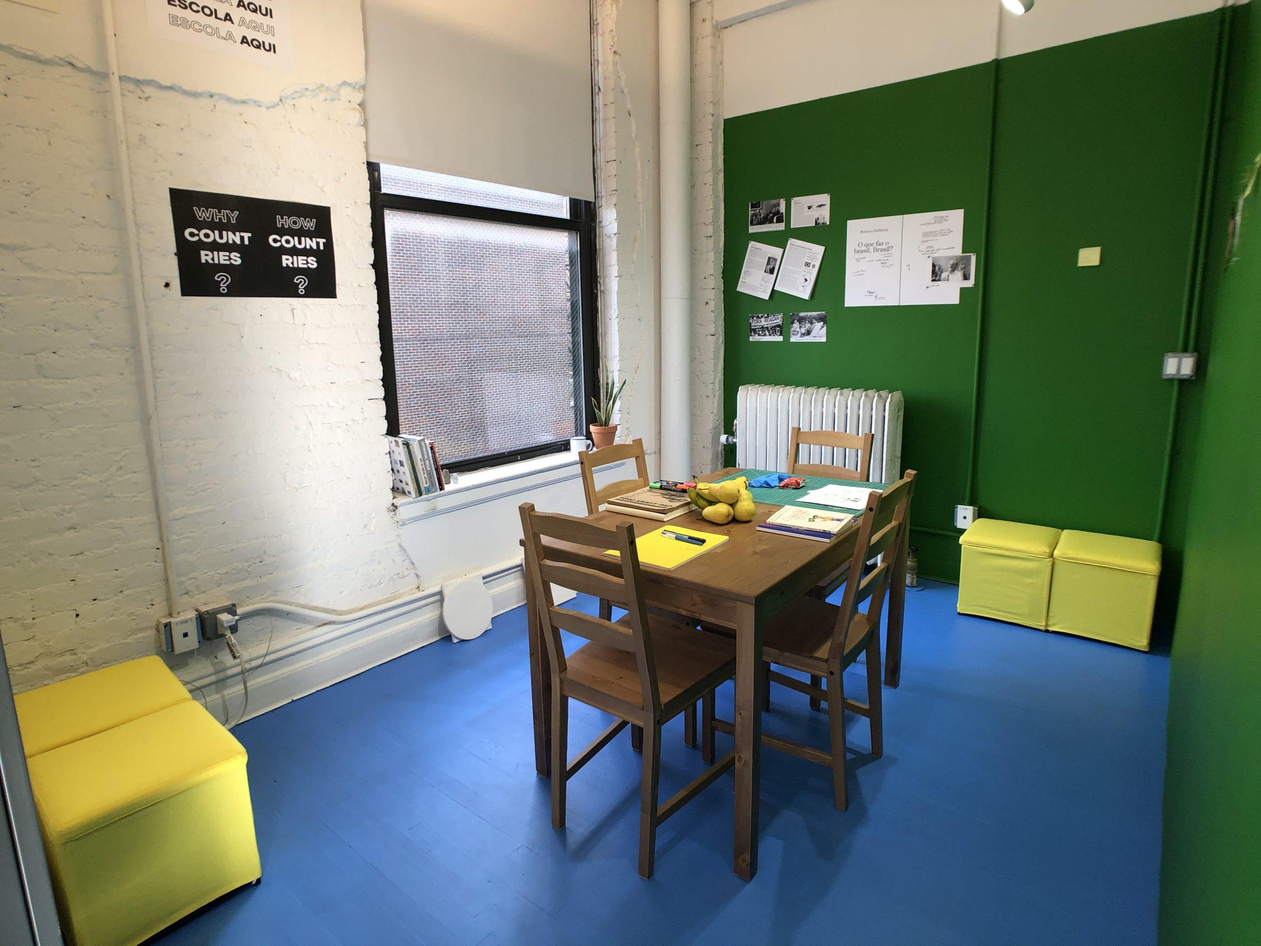 Escola Aqui at SVA FA Studio, 2019